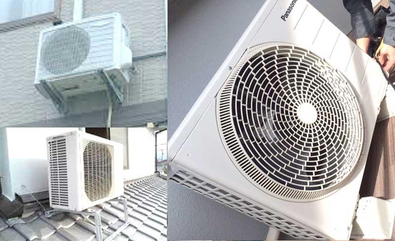 AC室外機特殊設置